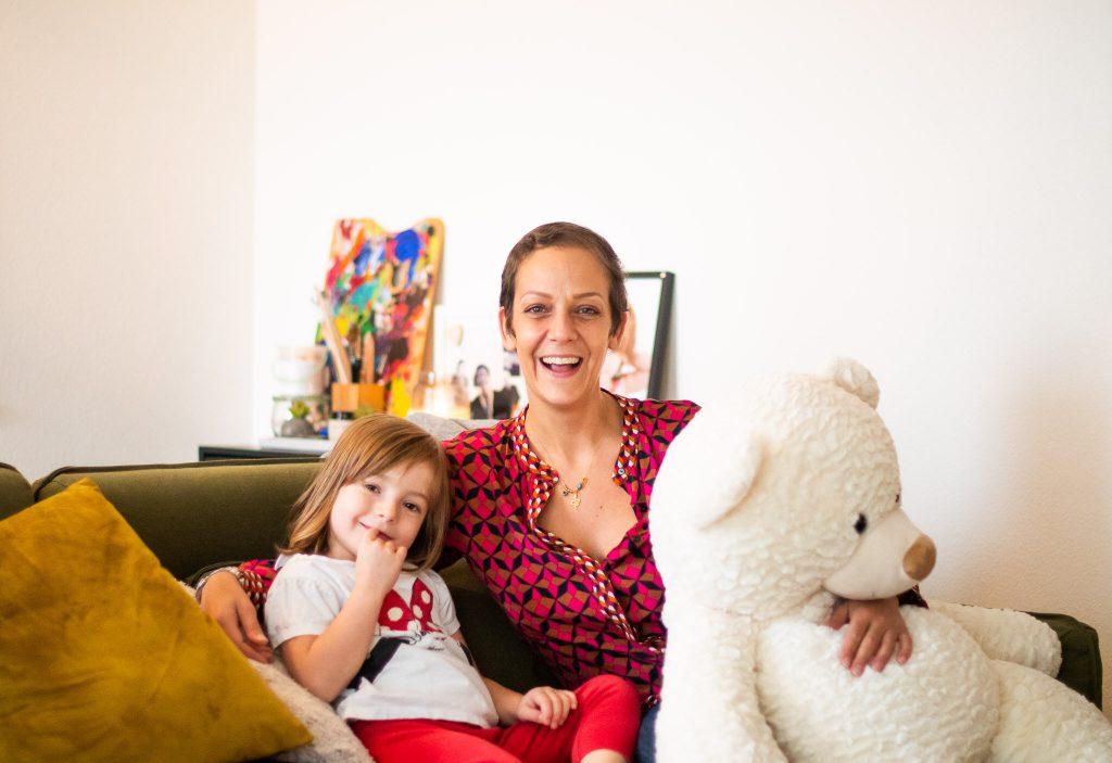 Filipa (39 yo), Alexia (4 yo)