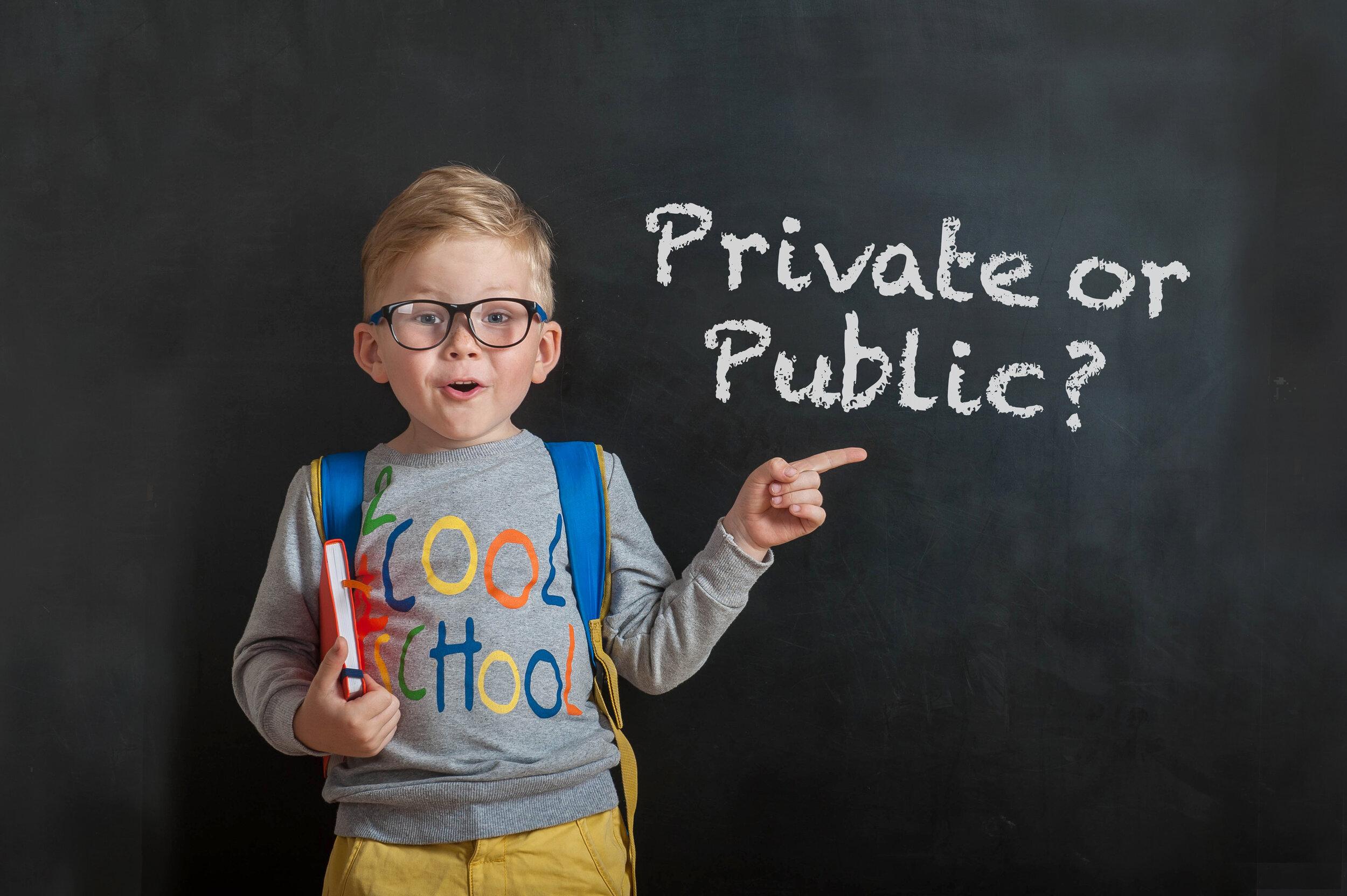 Ecole privée vs publique: un choix parfois cornélien !