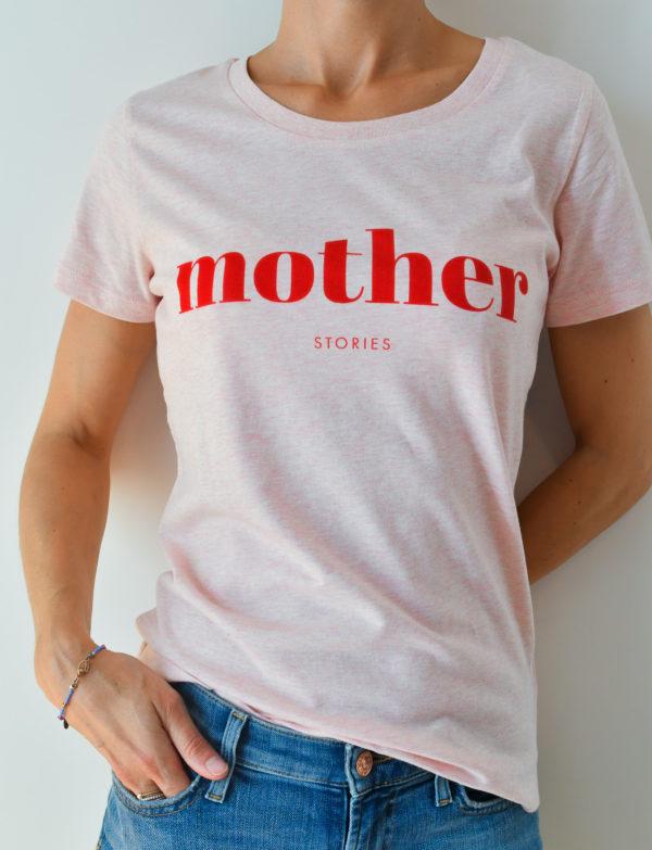 T-shirt MotherStories porté face